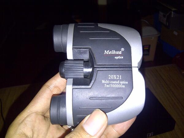 OBRAL MURAH banget TEROPONG (BINOCULAR) MEIHUA Optics unik..! 50rb..!!