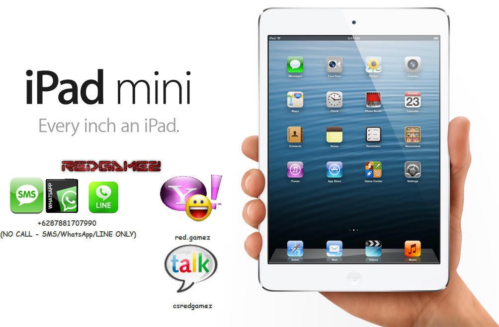 iPad mini New Garansi Resmi