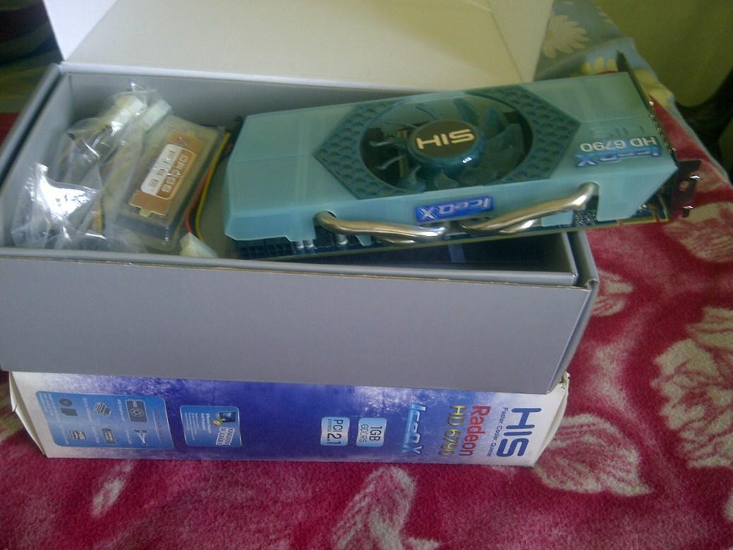 JUAL VGA HIS iceQ ATI RADEON HD 6790 DDR5,256 bit,1Gb Murah!!