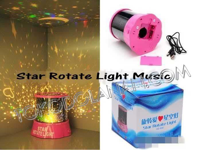 Star Rotate Light witH Music Surabaya !!!