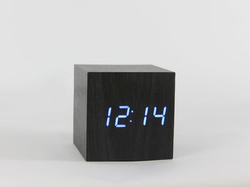 [Mr. Dre] - Jam Unik Wooden Digital Clock Mini