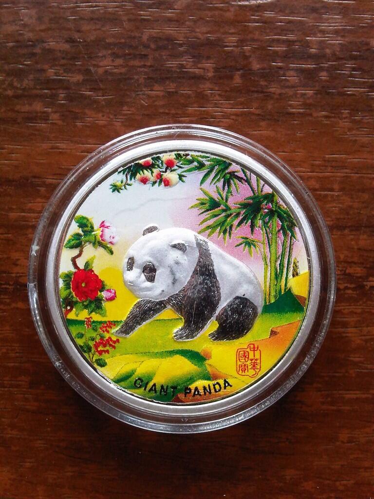 Koleksi Koin Panda China