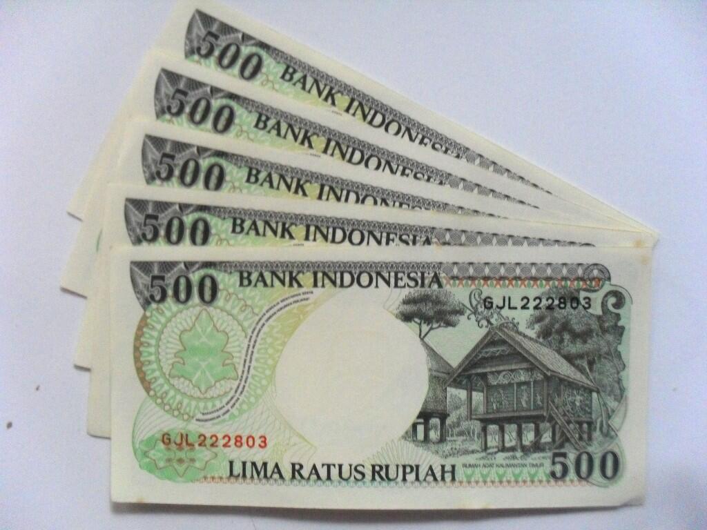 uang kuno 500 rupiah tahun 1992