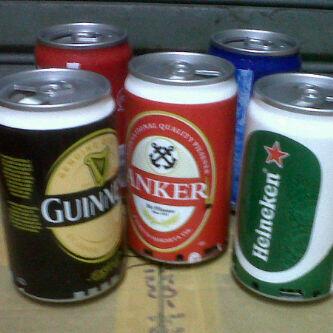 speaker mini kaleng minuman