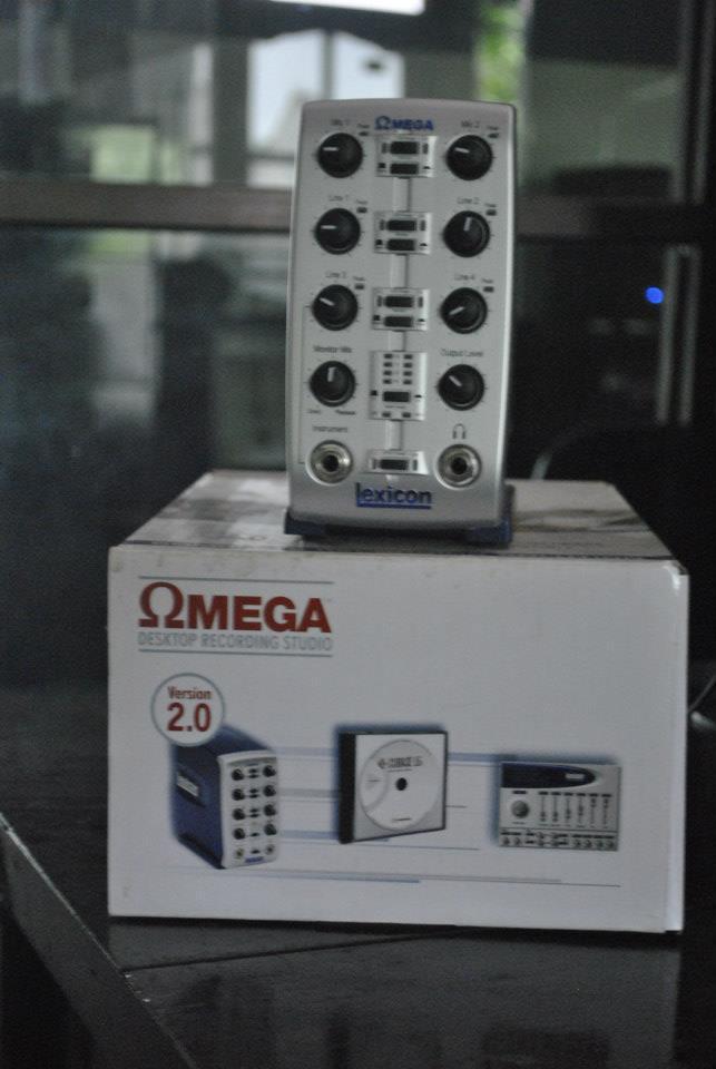 JUAL SOUNDCARD LEXICON OMEGA DAN SPEAKER MONITOR SAMSON MEDIONE 5a