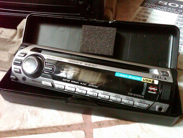 Head Unit Sony CDX-GT470US & Speaker Xplod XS-HT130SN MURAH !!!!!