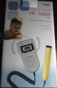 Fetal Doppler Bistos Hi Bebe