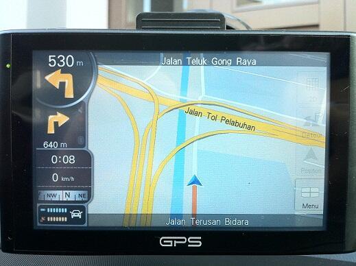 "GPS 5"" Hi Resolution Display"