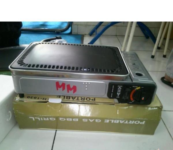 PANGGANGAN PORTABLE GAS BBQ MM MURAH CUMA 375RB!