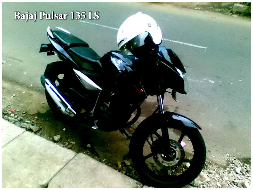 DIJUAL MOTOR BAJAJ PULSAR 135 LS THN. 2011