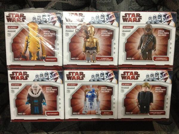 WTS STAR WARS KUBRICK DX 1 & MEDICOM KUBRICK 400% C-3PO & HOME STAR R2D2 EX
