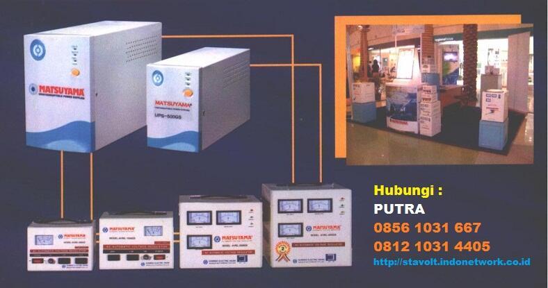 Produsen & Distributor Avr, Stavolt, Stabilizer Matsuyama