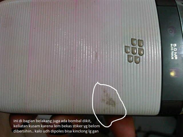 WTS bb torch 1 /9800 white ex garansi lengkap..