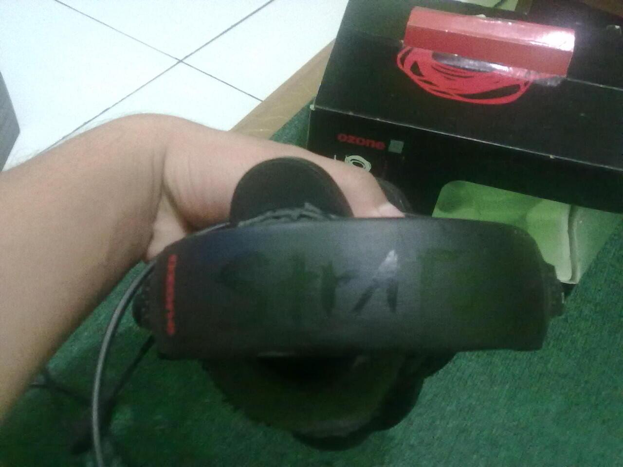 [BANDUNG] HEADSET Ozone Strato (5.1 Surround, Proffesional Gaming Headset)