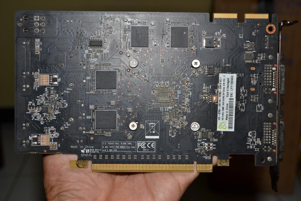 VGAXFX HD 5750 128 Bit 1GB GDDR5