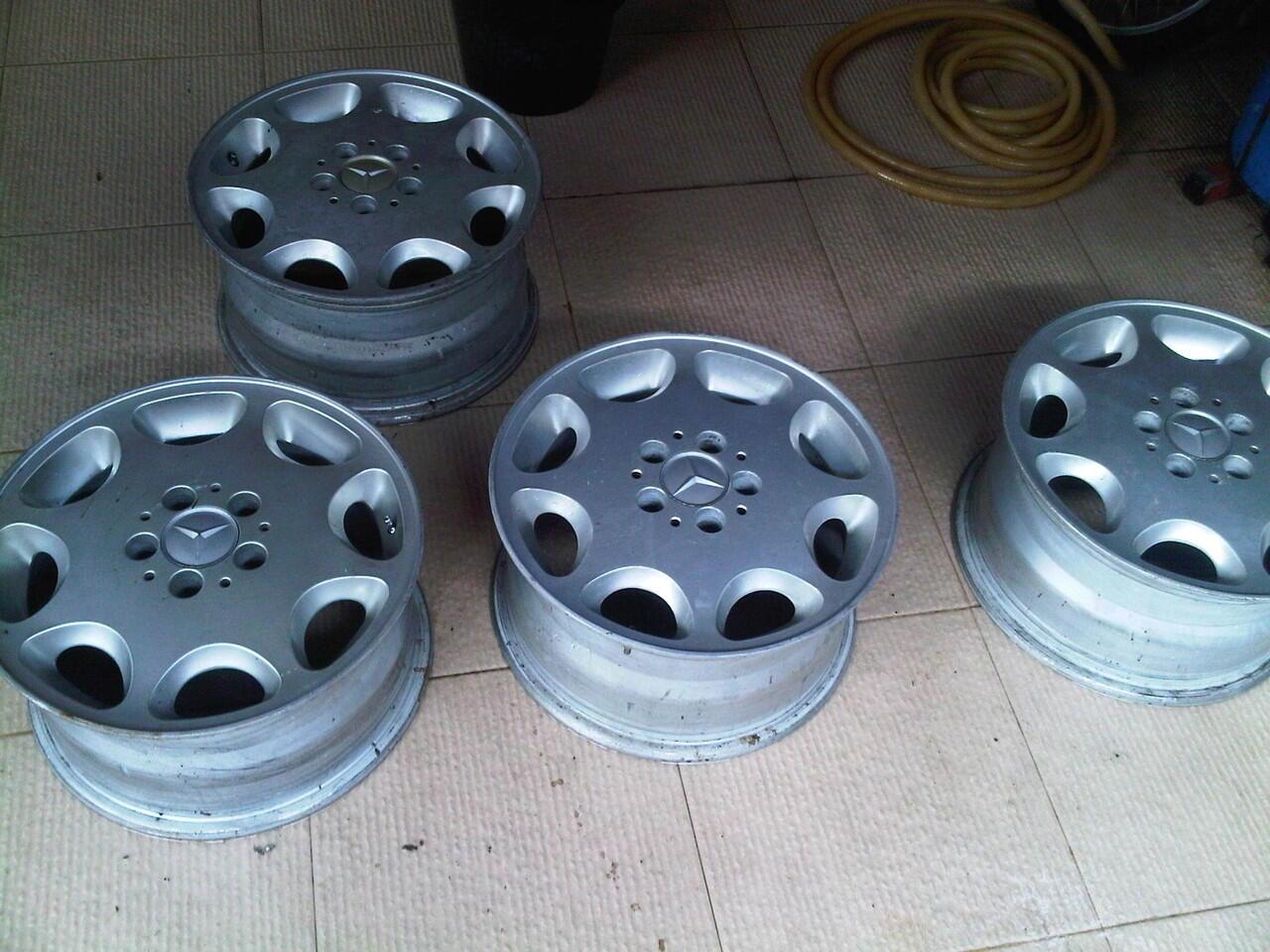 wts : velg std S 320 W140 thn 96-98