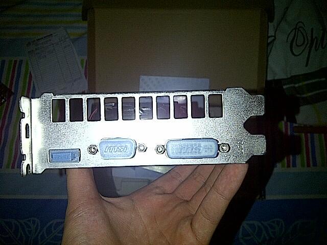 [WTS] MSI GeForce N430 GT 2GB DDR 3 [N430GT-MD2GD3]