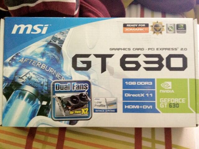 MSI GT 630 Baru + Murah