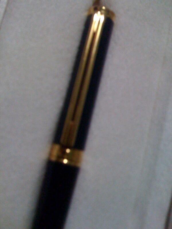 WTS Montblanc Model NOBLESSE OBLIGE Fountain Pen antik