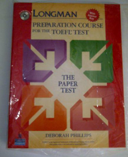 Buku Longman Preparation Course For the TOEFL Test: The Paper Based Test