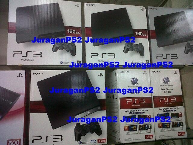 LIMITED HALO EDITION Xbox Slim / PS3 Slim + PES / PS2 PSP Lengkap Baru MURAH TERBATAS