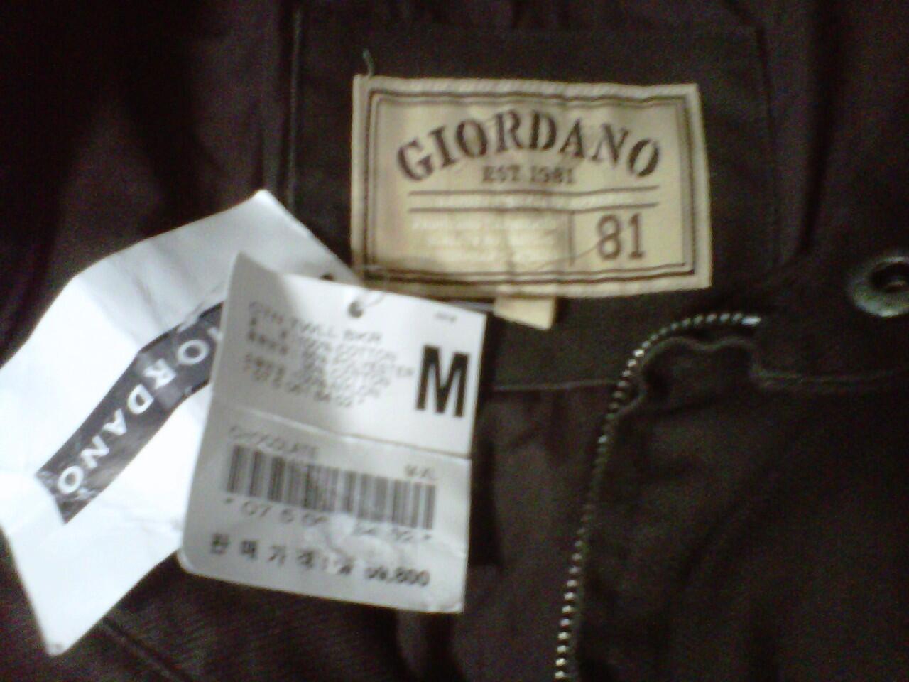 jual jaket jeans giordano originaaaal muraaaah
