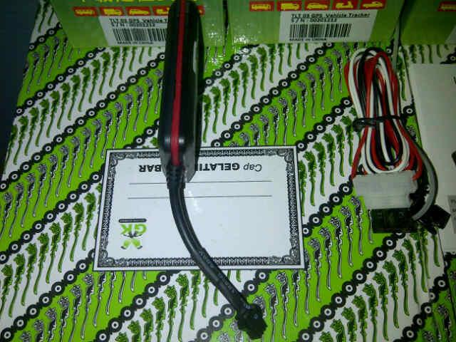 Ready Stock GPS Tracker Motor / Mobil TLT03 Harga 600rb.