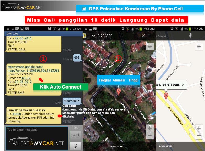 GPS TRACKER / Pelacak Kendaraan