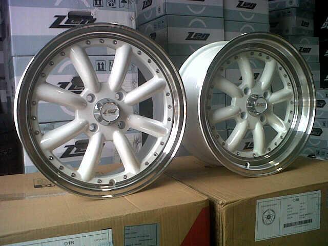 Jp racing : on sale Zen RS8 (WT013) R15x6,5 4-100 et38/32