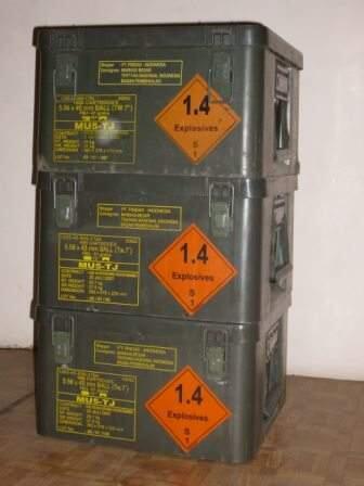 Tool box / Kotak peluru ex pindad