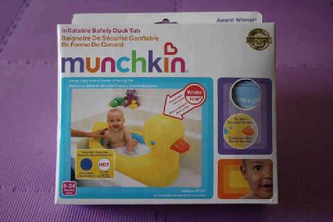 Munchkin Inflatable Tub (anak-anak pasti suka)