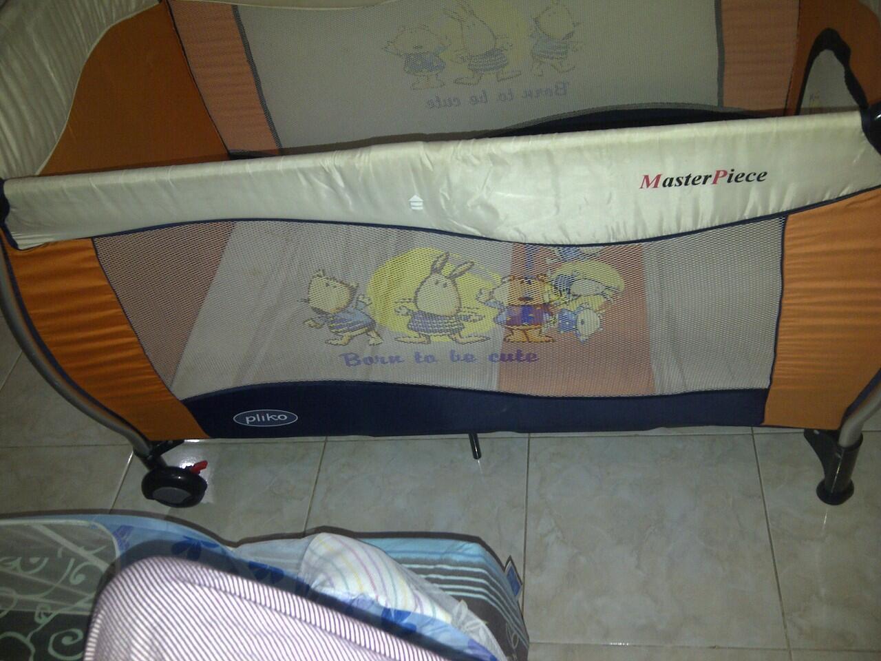baby box/box bayi 2nd pliko, baby does & kasur baby box
