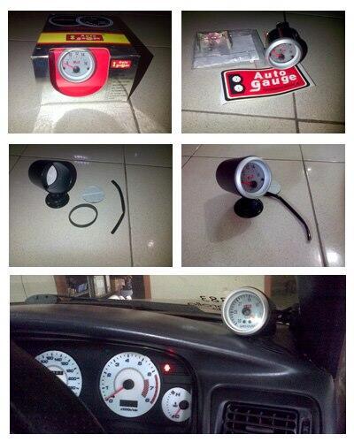"Voltmeter Autogauge 2"", single POD gauge 2"""