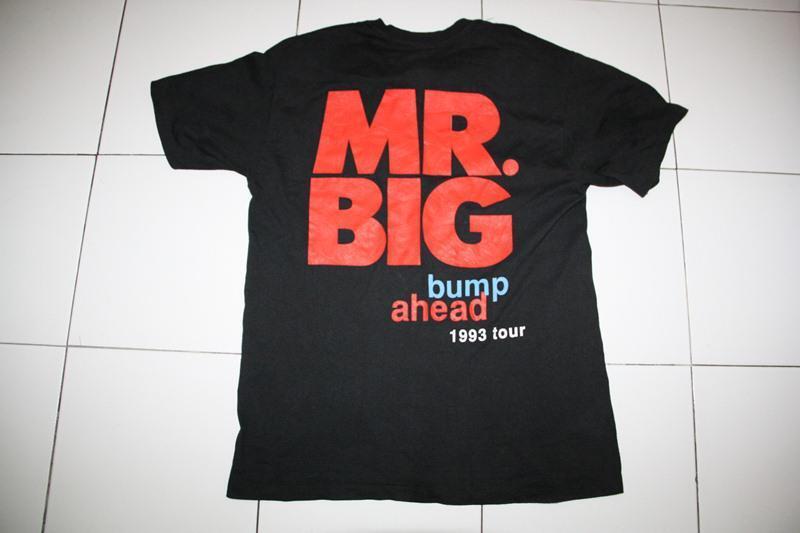JUAL BEND MERCH, MR BIG TOUR 1993. HATEBREED 2007 TOUR. GOOD CHARLOT ROLLING STONE.