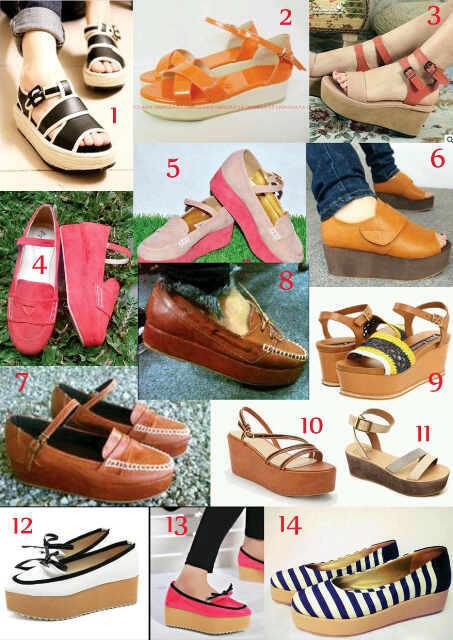FlatWedges shoes - BigRey outlet