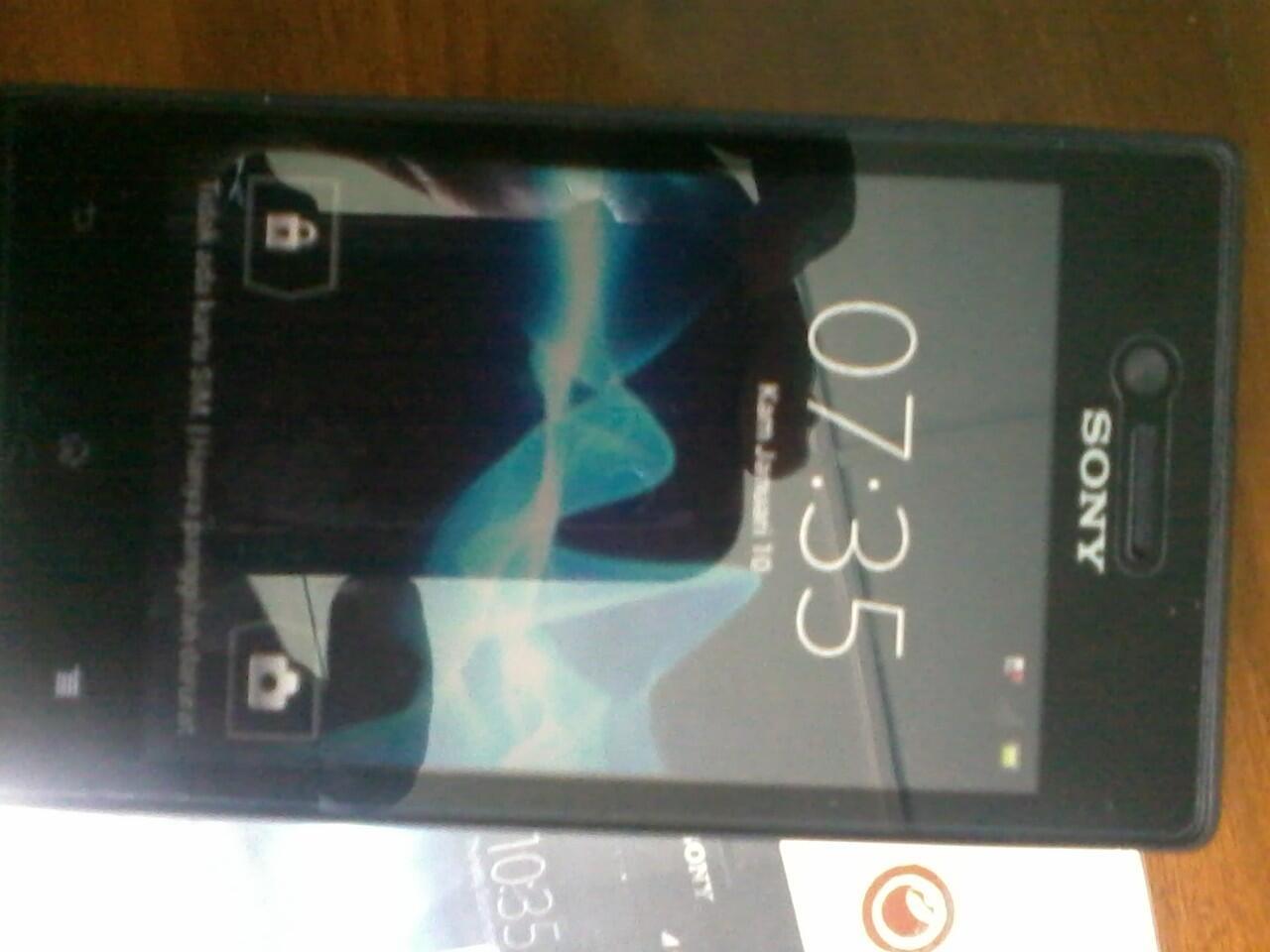Terjual Bu Hp Sony Xperia Miro Mulus Jogja Yogyakarta Kaskus St23i 4 Gb