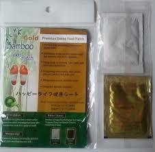 JUAL Bamboo Foot Patch GOLD.Harga Termurah SeKaskus&Dijamin Asli.Need Reseller..