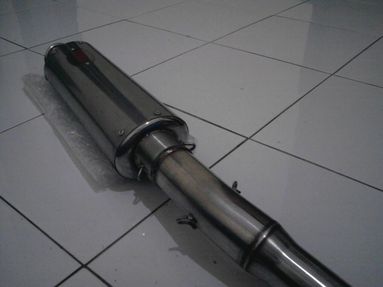 DBS part ori thailand(swing arm almunium+knalpot+pipa+cdi+kem/noken as)