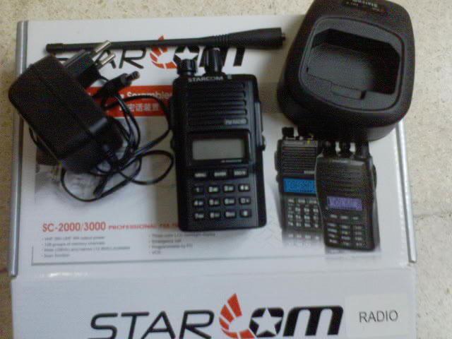Handy Talkie (HT) Starcom VHF with FM Radio