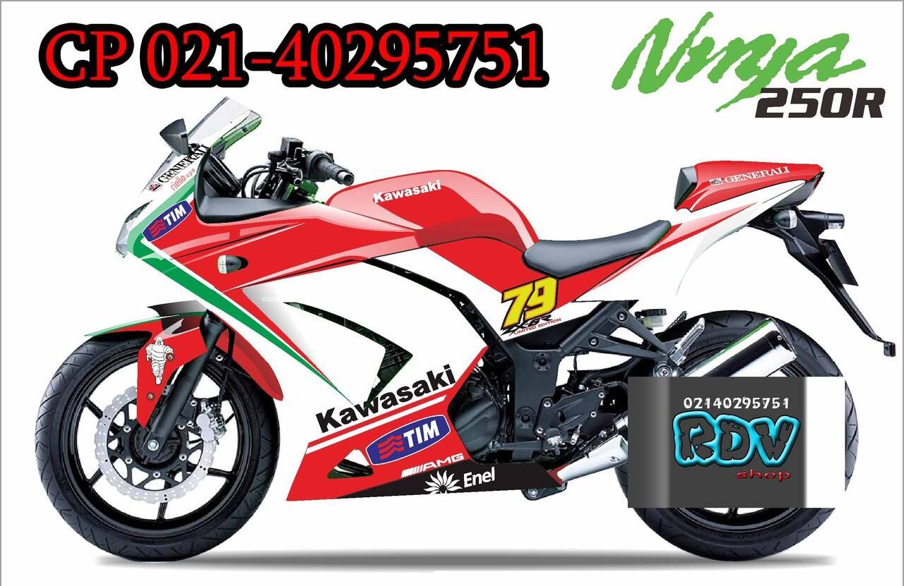 Terjual Decal Custom Untuk Semua Motor Desain Suka Agan Kaskus Sticker Cutting