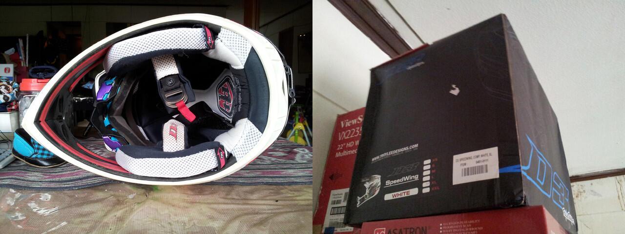 Jual TLD ( Troy Lee Designs ) D3 Composite helmet