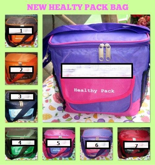 New Healthy Bag Tupperware