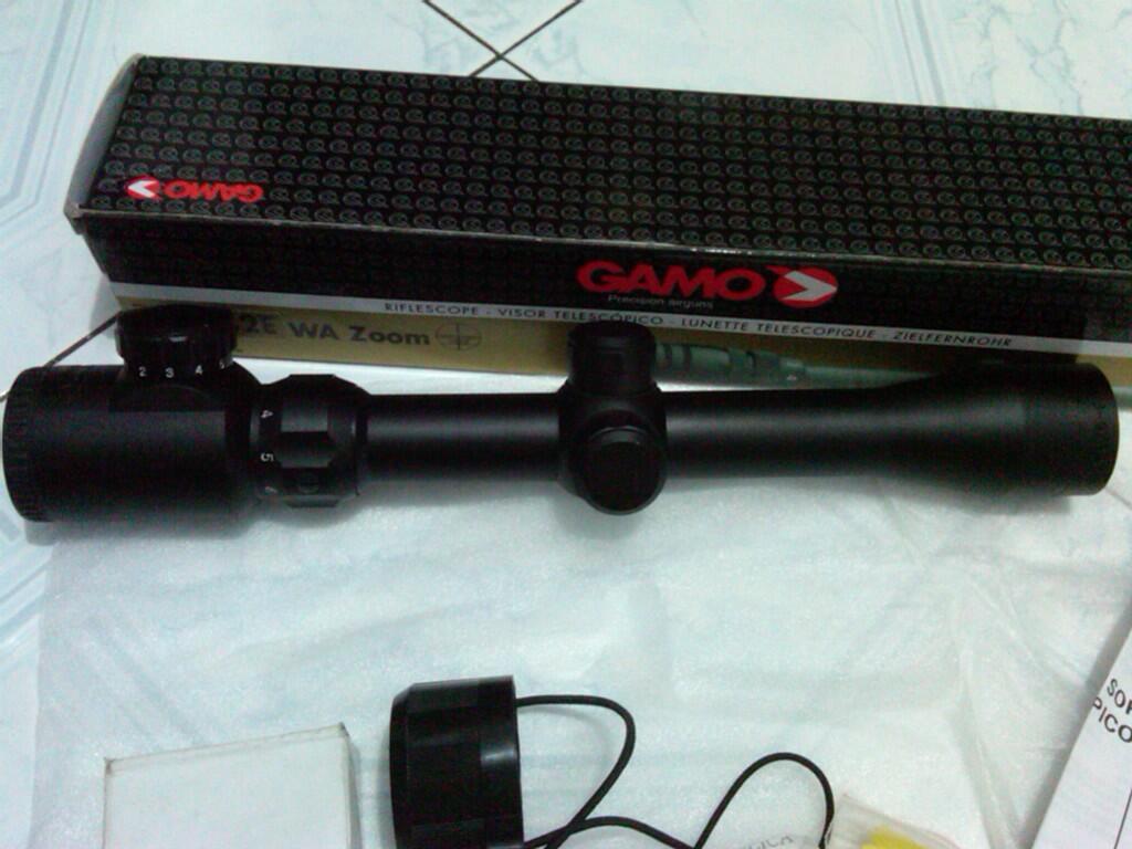 Scope GAMO 3-9x32 E