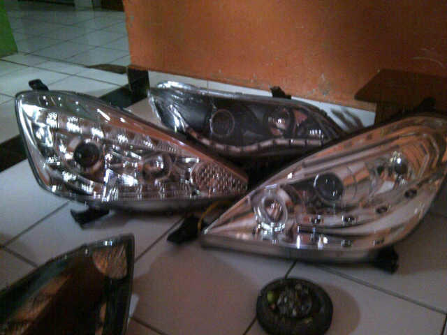 Berbagai macam Headlamp angel eyes baru maupun custom