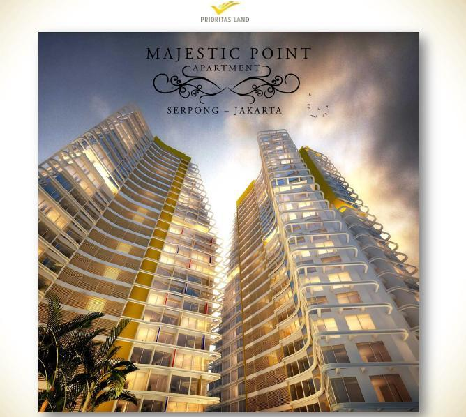 """Terbatas 100 Unit The Great Majestic Point Serpong """"The Golden Triangle Location"""""""