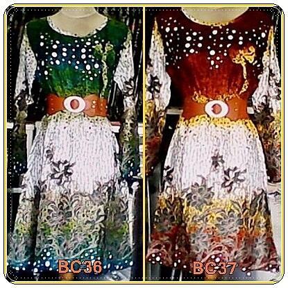 Dress Batik Trendy