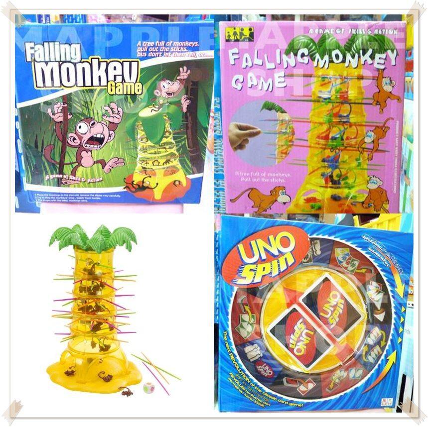 Game-Game Unik (Falling Monkey & UNO Spin)