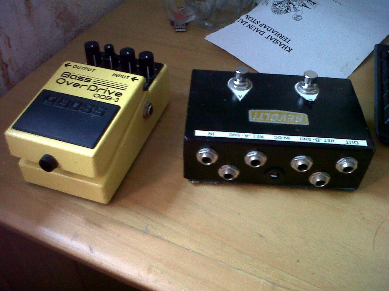 Boss ODB-3 Bass Overdrive & Looper switcher AB Revolt