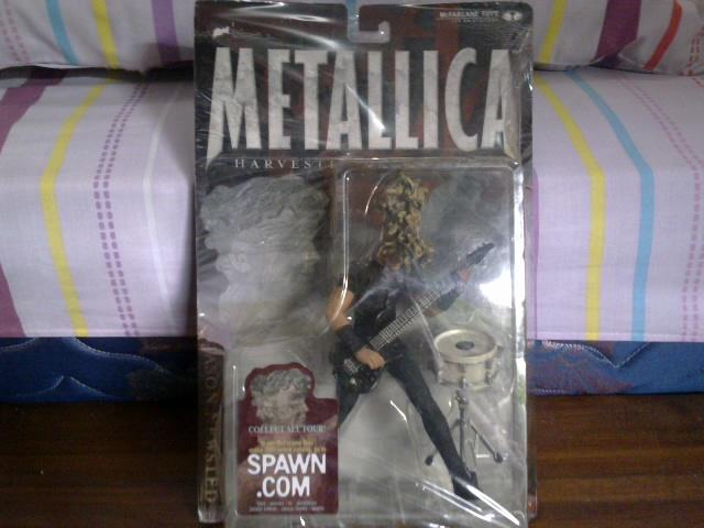 action figure metallica harvester for sorrow