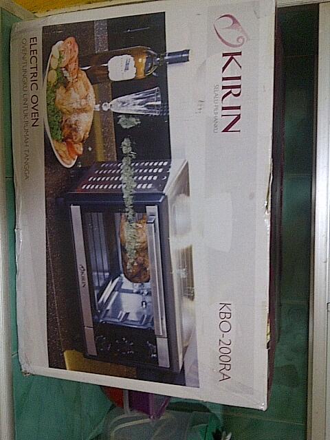 Dijual Portable Electric Oven Kirin KBO-200RA